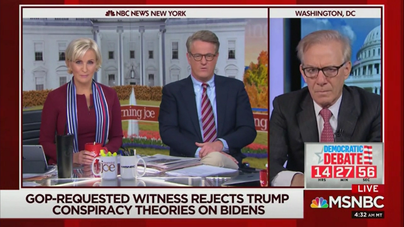 Joe Scarborough Accuses Intel Committee Republicans of 'A Lack of Love of Country'