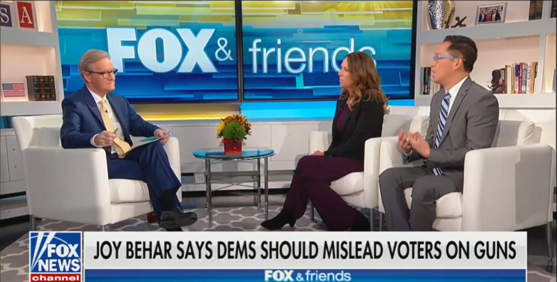 Fox's Steve Doocy Defends Joy Behar: TV Hosts Shouldn't Be Fired for Their Opinions