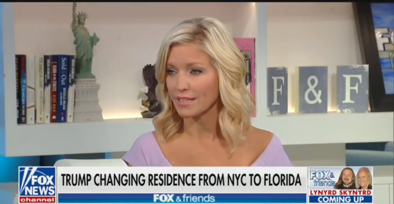 Fox's Ainsley Earhardt Laments That Trump Would Probably 'Be Booed or Kicked Out' of New York Restaurants
