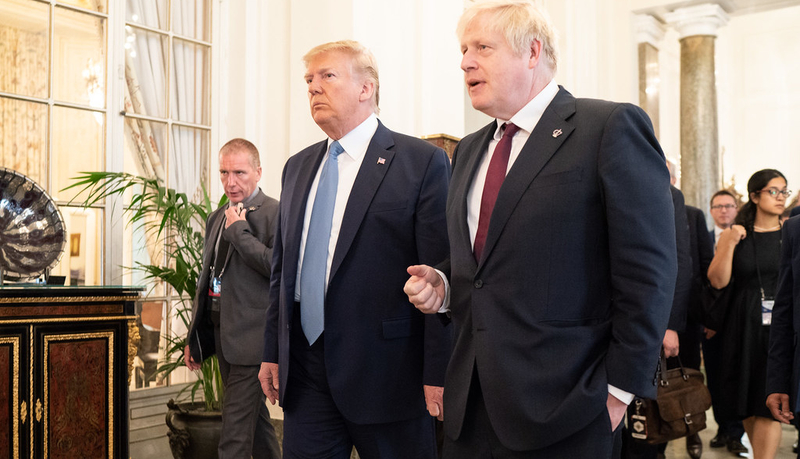 British Prime Minister Asks Trump Not to Intervene in His Country's Election