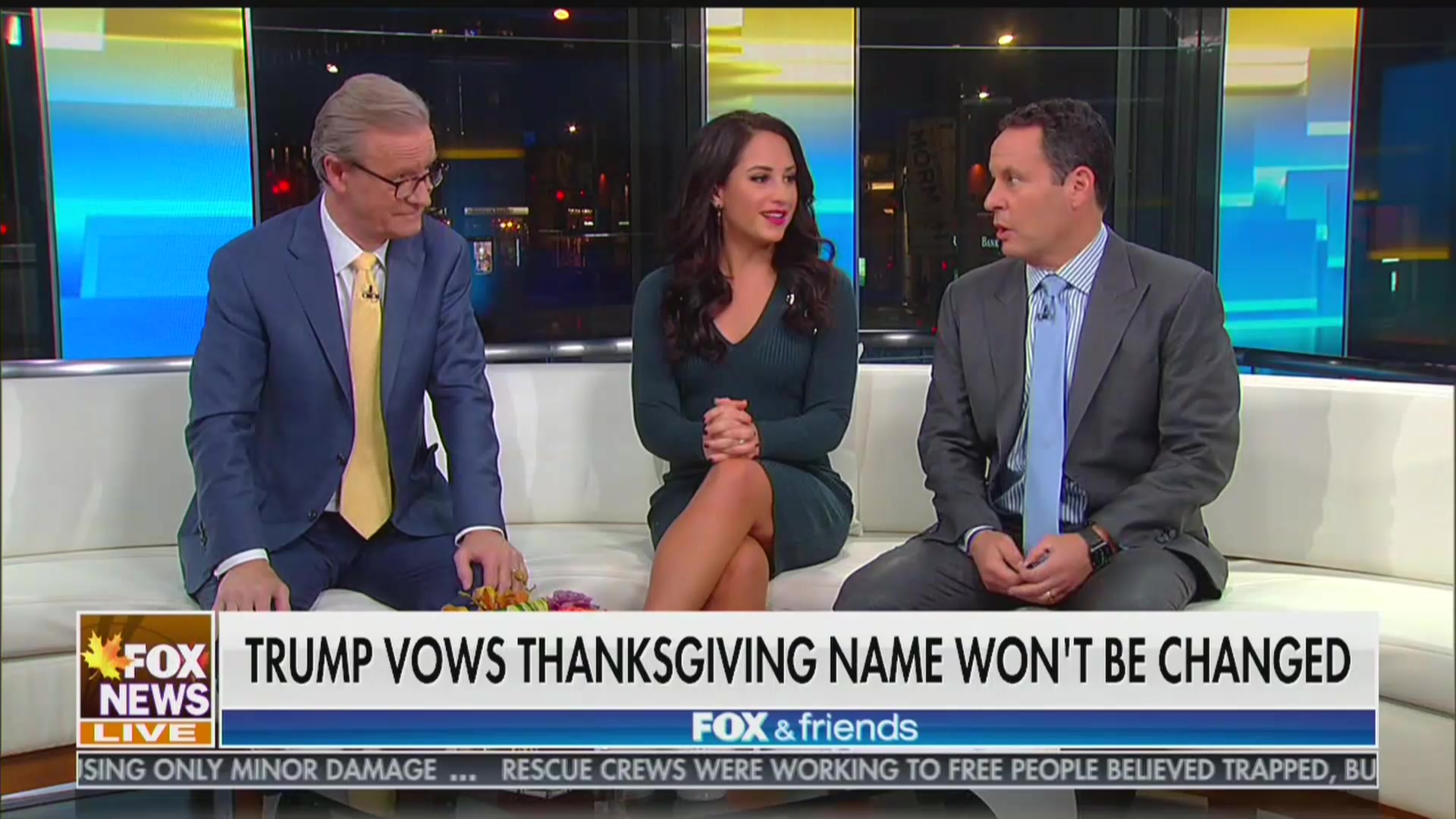 Fox & Friends Backs Trump's 'War on Thanksgiving' Conspiracy He Got From Fox
