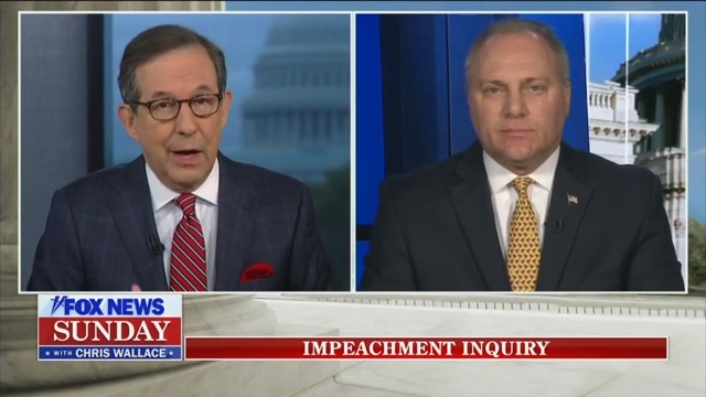 Steve Scalise Stumbles When Grilled by Fox's Chris Wallace on Impeachment