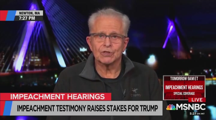 Laurence Tribe to Trump and Each of His Supporters: 'You Are a Pathetic Excuse for a Human Being'
