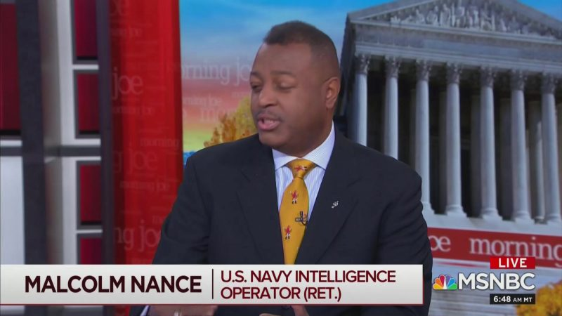 MSNBC's Malcolm Nance: Trump's a Russian Asset Who Was Surveilled as 'Early as 1977'