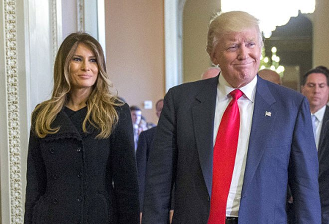 Melania Trump Wrote No Social Media Posts for President's Birthday – But Congratulated the Army