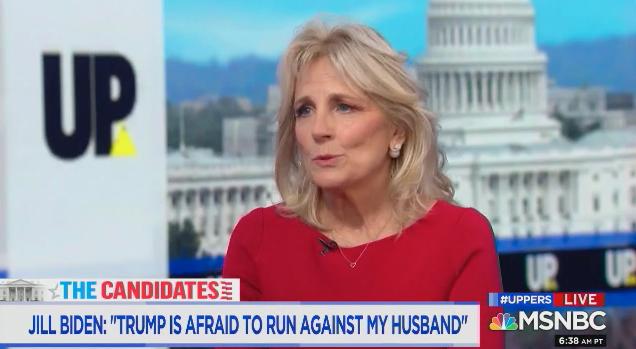 Jill Biden: Trump Is 'Afraid to Run Against My Husband'