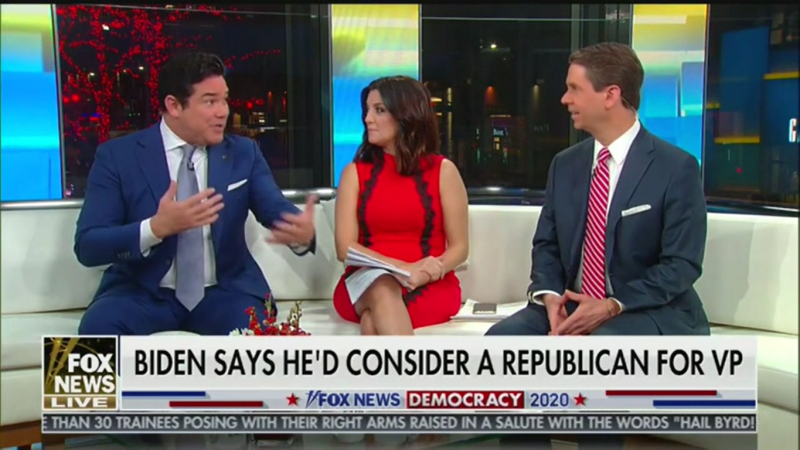 'Fox & Friends' Criticize Biden for Not Naming a Republican He Might Pick for VP