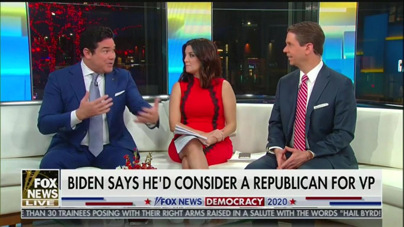 'Fox & Friends' Criticize Biden for Not Naming a Republican He Might Pick for VP