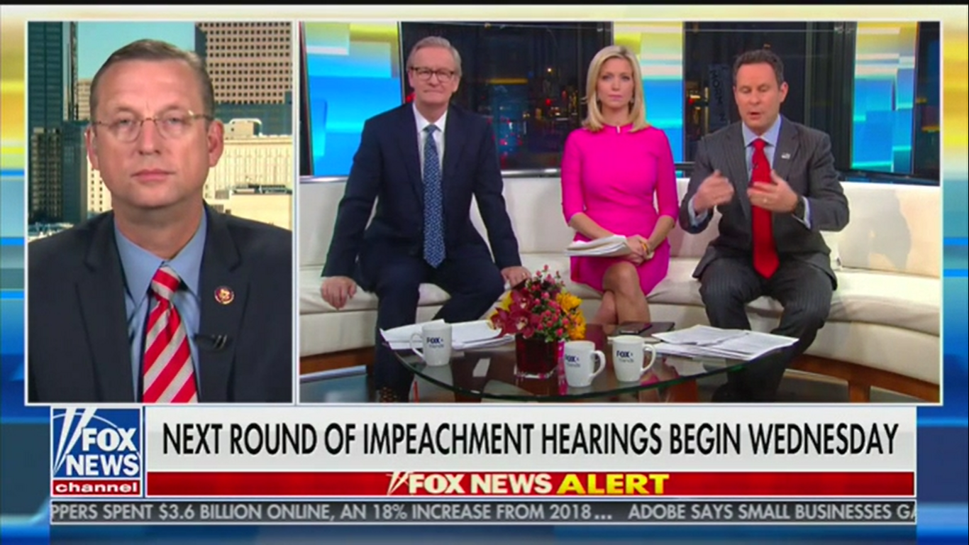 Republican Rep. Doug Collins: Democrats Are 'Searching for a Way Out' of 'Sham Impeachment Hearings'