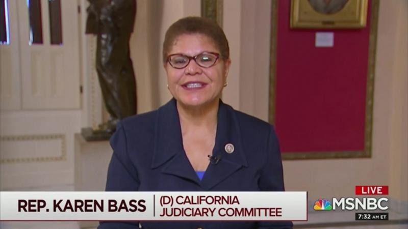 Democratic Rep. Karen Bass: Trump 'Has No Understanding of What the Truth Is'