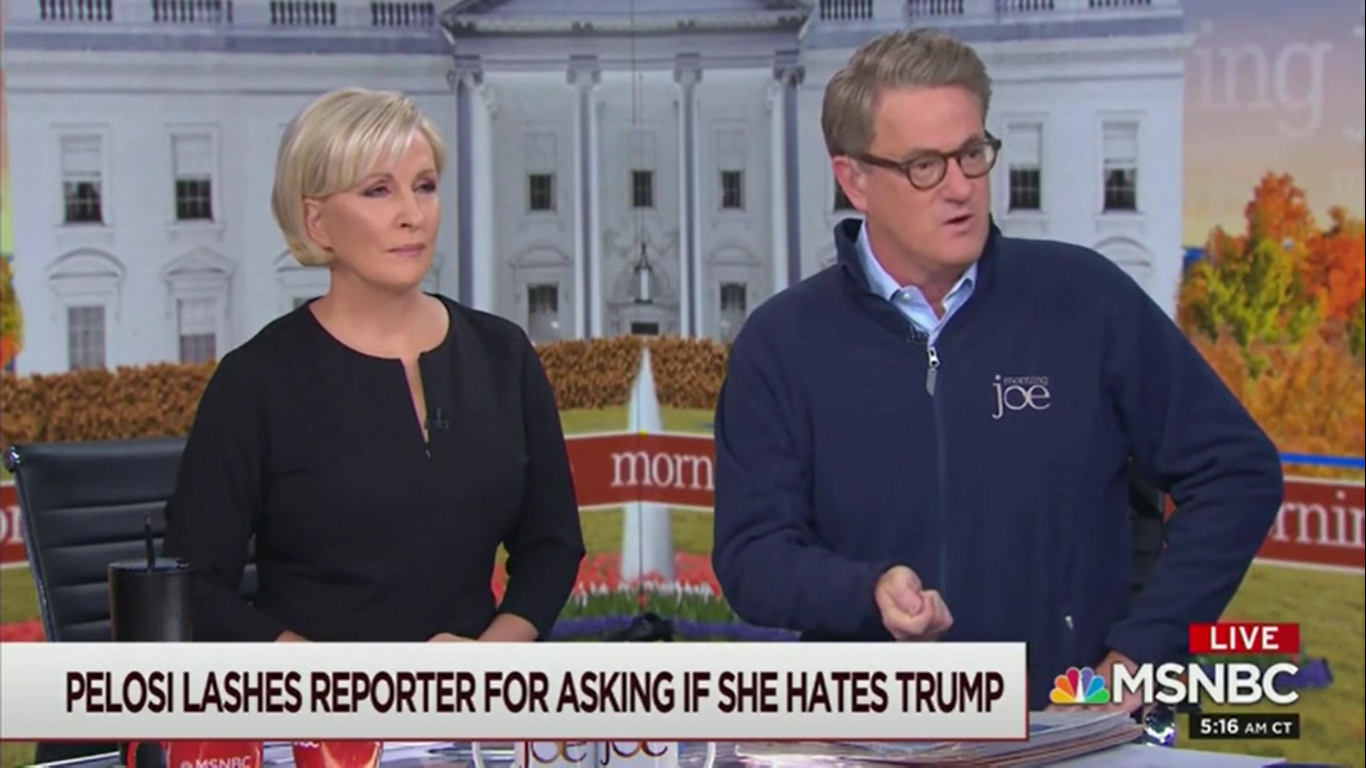 Joe Scarborough: Why Doesn't the Sinclair Reporter Ask Trump if He Hates Jesus?