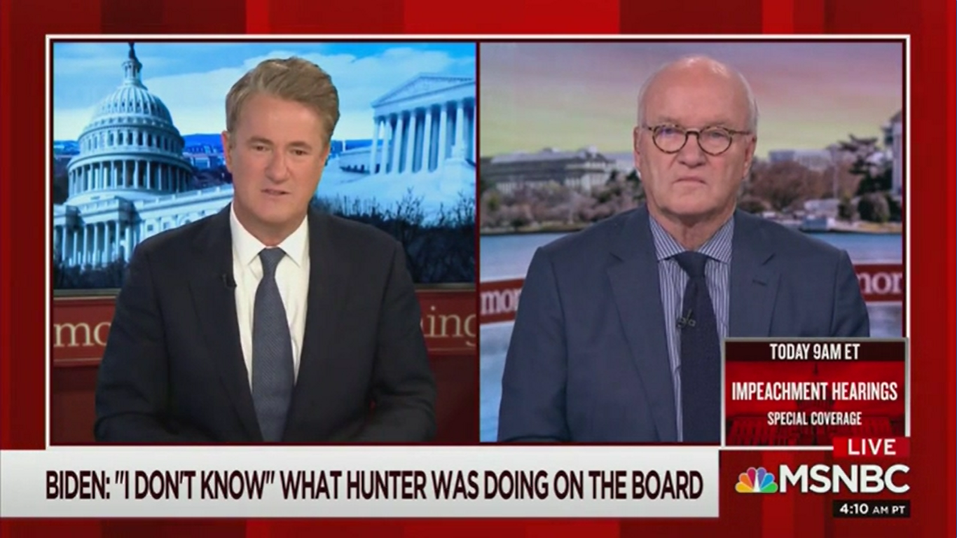 MSNBC's Mike Barnicle: 'Biden is Ronald Reagan' in Contrast to the Democratic Field