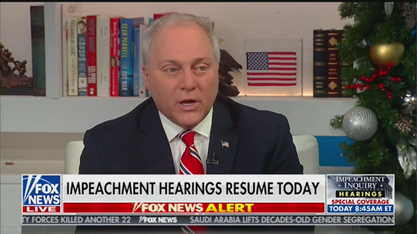 GOP Rep. Steve Scalise Accuses Adam Schiff of 'Spying on Members of the Press, on Members of Congress'