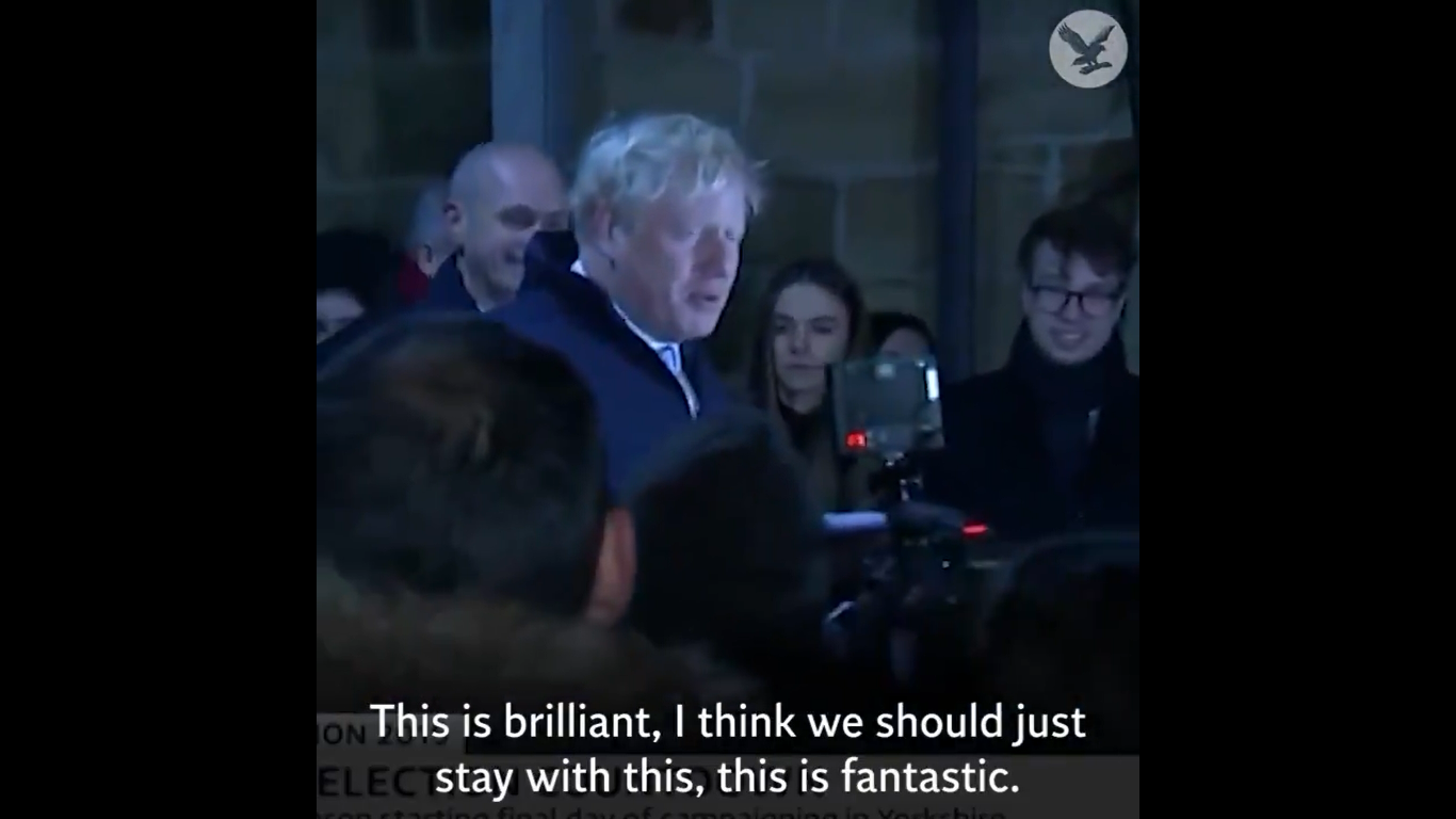 Boris Johnson 'Hides in Fridge' to Avoid Piers Morgan Interview