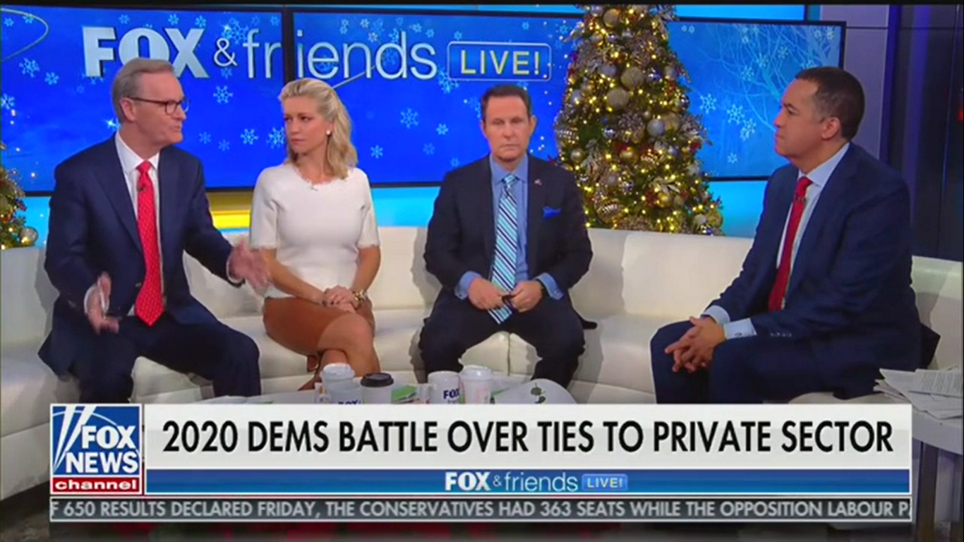 'Fox & Friends' Guest on Impeachment: 'You Don't Put Someone to Death for Running a Stop Sign'