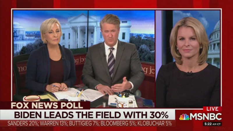 Joe Scarborough: 'Teflon Joe' Still Leading in the Polls While Warren Continues 'Political Bleeding'
