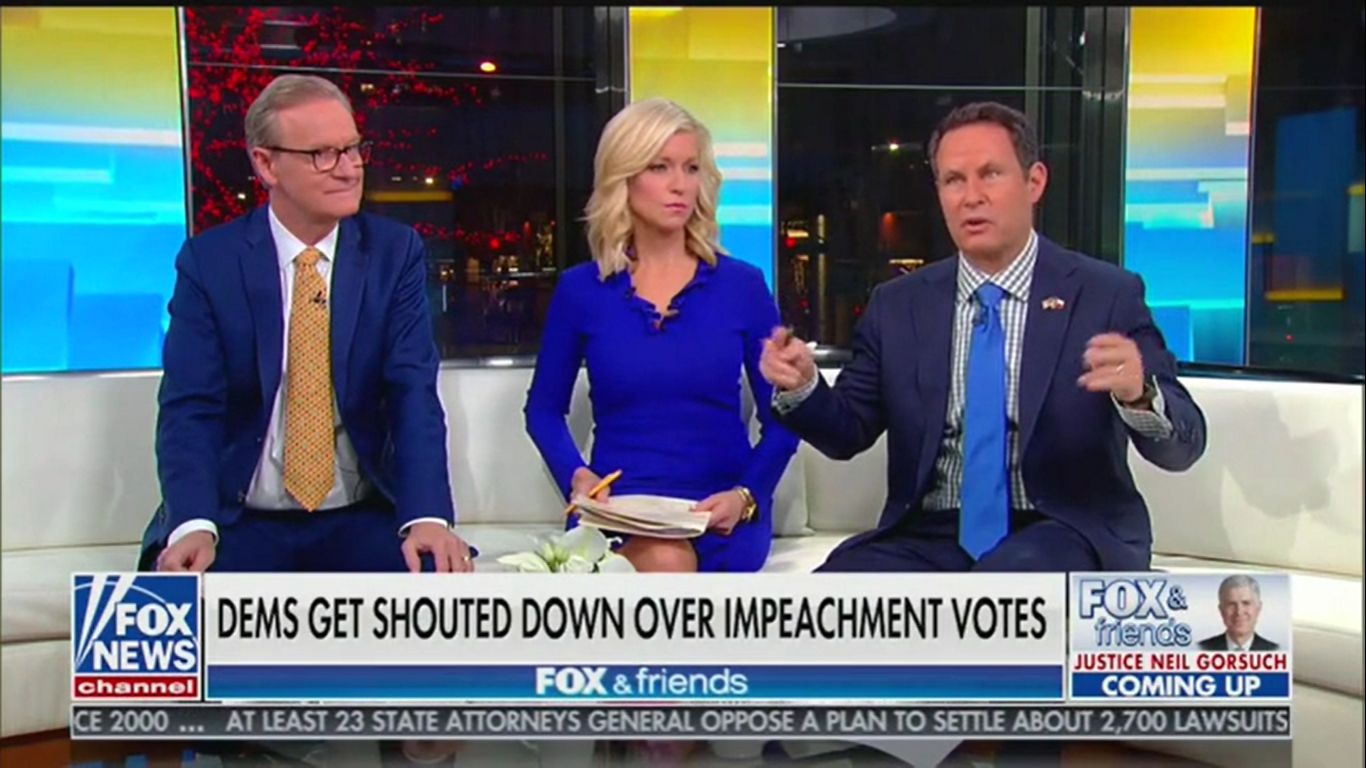 Fox's Steve Doocy: Senate Won't Remove Trump 'Unless There's Some Crazy Smoking Gun That Nobody Knows About'