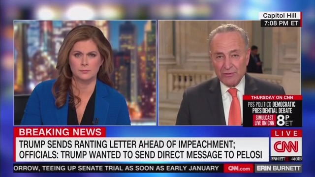 Schumer on Trump: 'The Very Things He Does He Accuses Others of Doing'