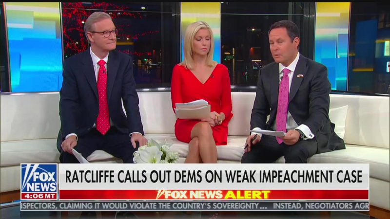 Fox's Brian Kilmeade: I'm 'Stunned' By My Own Network's Poll Showing Majority Support Impeachment