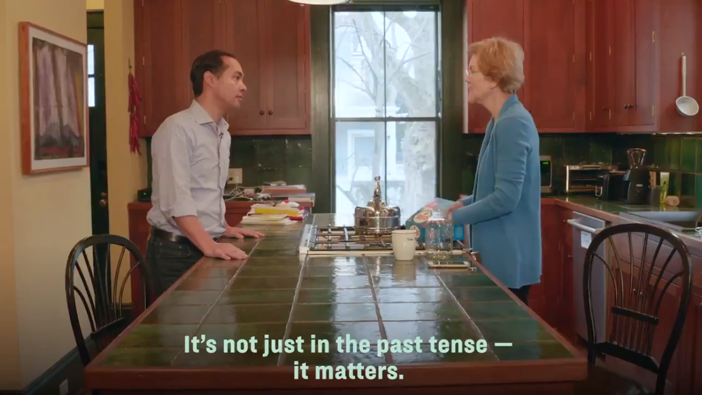 Julián Castro Endorses Elizabeth Warren for President