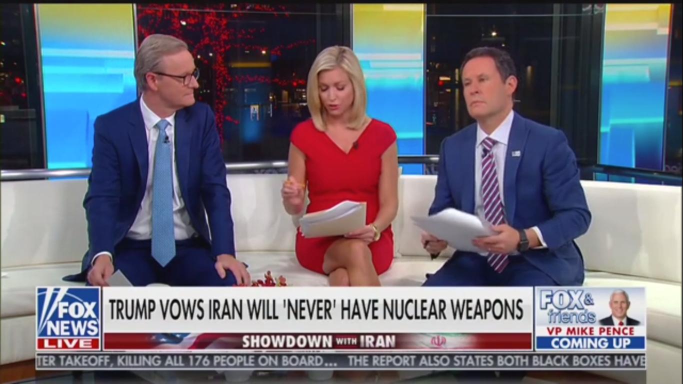 Fox's Brian Kilmeade: Trump Criticizing Obama over Iran 'Doesn't Make Any Sense'