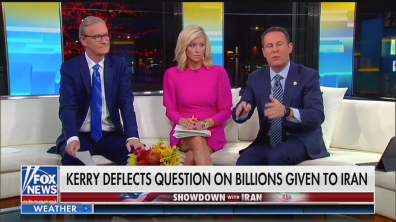 Fox's Brian Kilmeade Accidentally Calls Qassem Soleimani a 'Liberal Columnist' Who's 'Very Well-Respected'