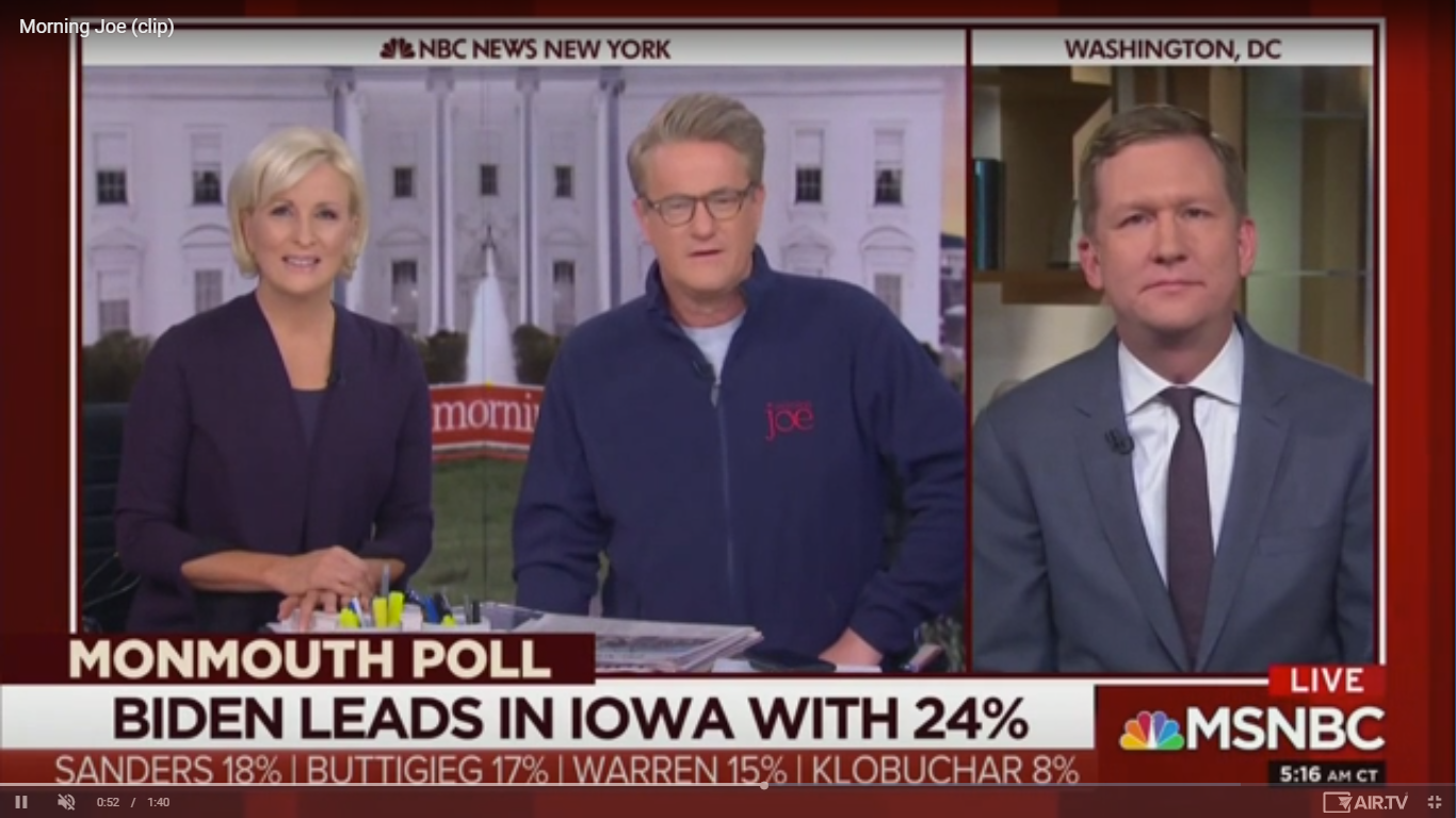 Joe Scarborough: Joe Biden Is 'The Democratic Antidote to Trump'
