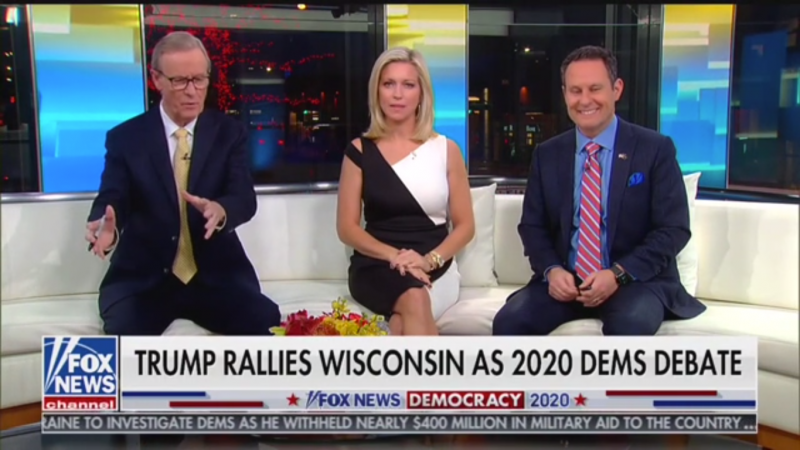 Fox's Steve Doocy: 'If Reelected, Donald Trump Will Allow You to Take a Shower in Seven Seconds'