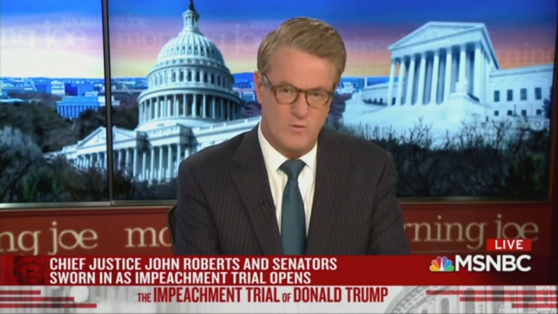 Joe Scarborough: Senators Won't Want to Be Associated with Lindsey Graham 'In History'