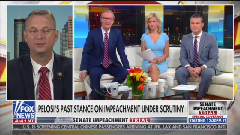 GOP Rep. Doug Collins Accuses Democrats of 'Cover-Up' Because 'Adam Schiff is a Fact Witness'