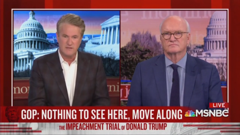 Joe Scarborough Predicts 'Political Oblivion' for GOP Senators 'Rigging the Process' for Trump