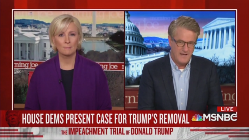 Joe Scarborough Mocks Susan Collins' 'Concern' That a 'Democrat Had Been Too Mean to a Republican'