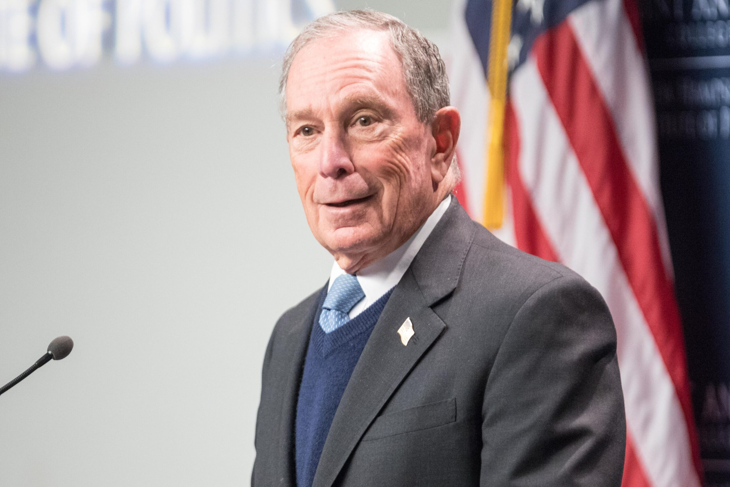 Rhode Island's Governor Endorses Michael Bloomberg for President