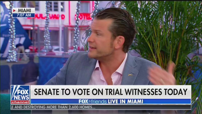 Fox's Pete Hegseth: Ukraine Scandal Is 'Learning Opportunity' for Trump's 'Second Term'