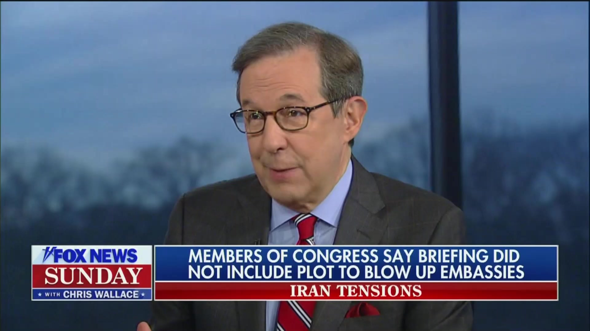 Chris Wallace to National Security Advisor: Why's Trump Telling Ingraham About Embassy Attacks But Not Congress?