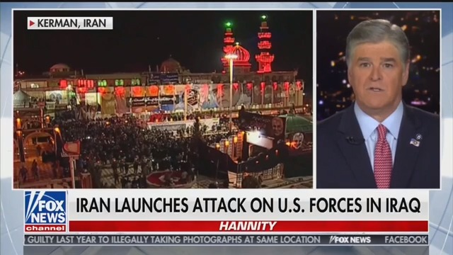 Hannity: Iran's Nuclear Sites Could Be 'Annihilated,' Refineries 'Up in Flames'