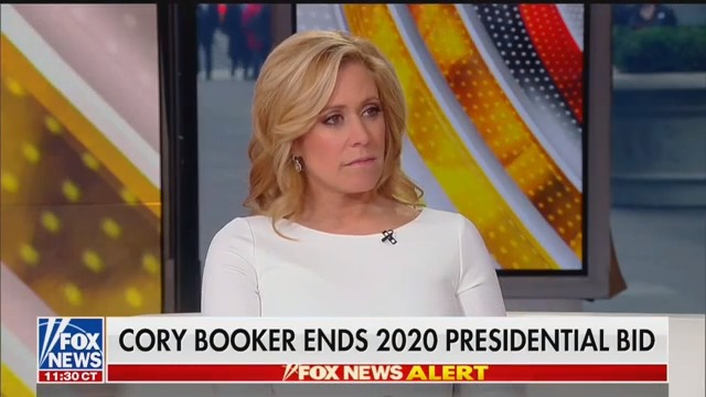 Fox News Host Reacts to Cory Booker Dropping Out: I Heard 'He's Lazy'