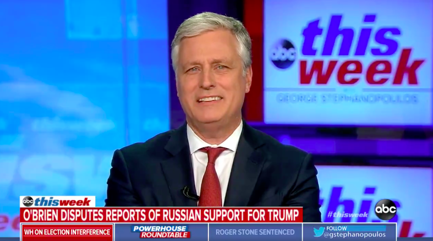 Trump's National Security Advisor 'Not Surprised' Russia Would Help Sanders Since He 'Honeymooned in Moscow'