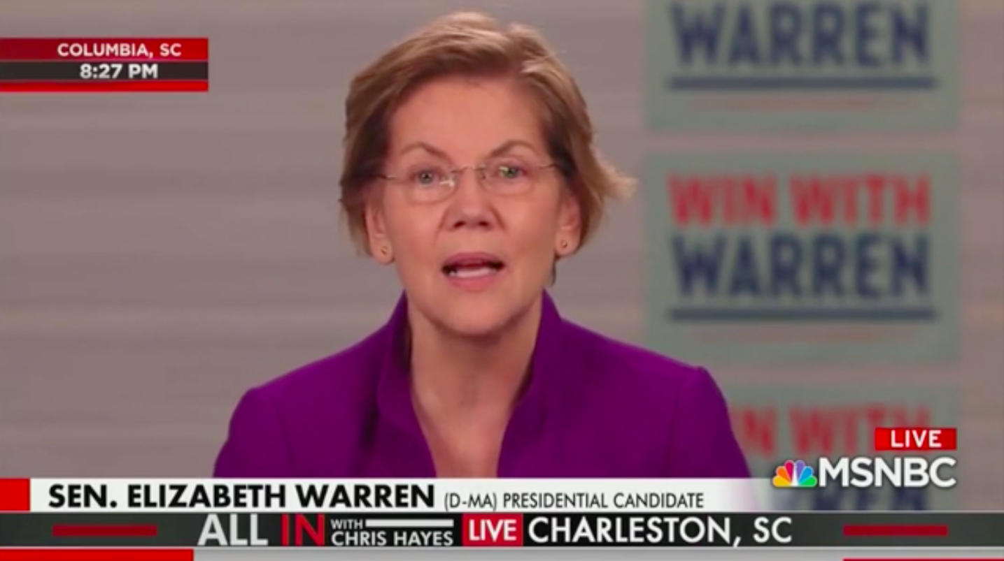 Warren Hammers Pence on Coronavirus: 'I Can't Think of a Worse Person to Put in Charge'