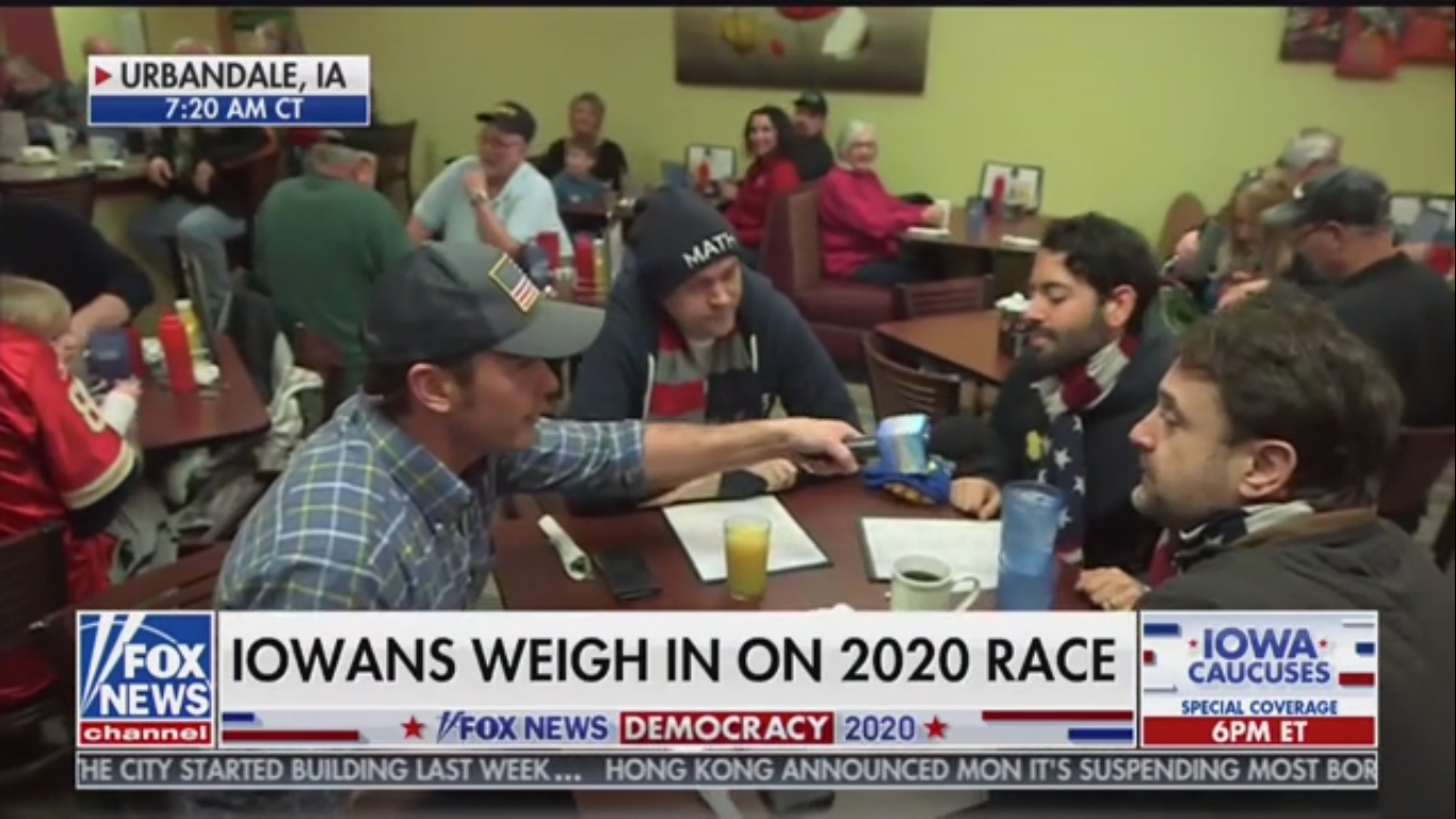 Iowa Andrew Yang Supporters Tell Fox News: 'There's Gonna Be A Shock Tonight'