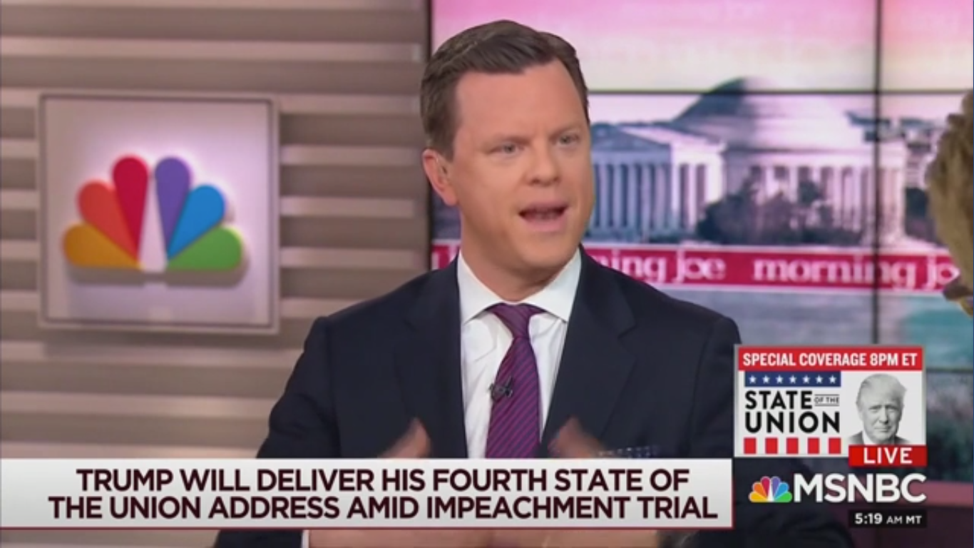 MSNBC's Willie Geist: Trump 'Walks Through the Fire Like a Martyr in the Eyes of Republicans'