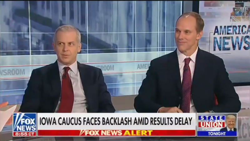 Fox's Chris Anderson Dismisses Trump Campaign Manager's 'Ridiculous' Claim That Iowa Caucus Was Rigged