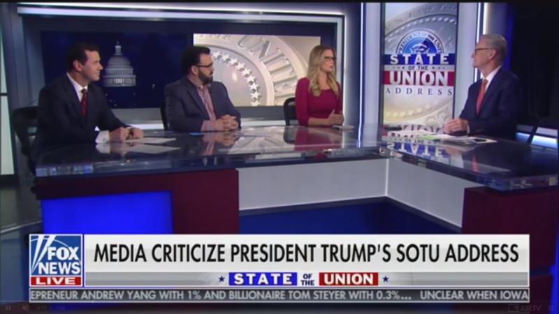 'Fox & Friends' Praises Trump's 'Centrist' Message in 'Optimistic' Speech
