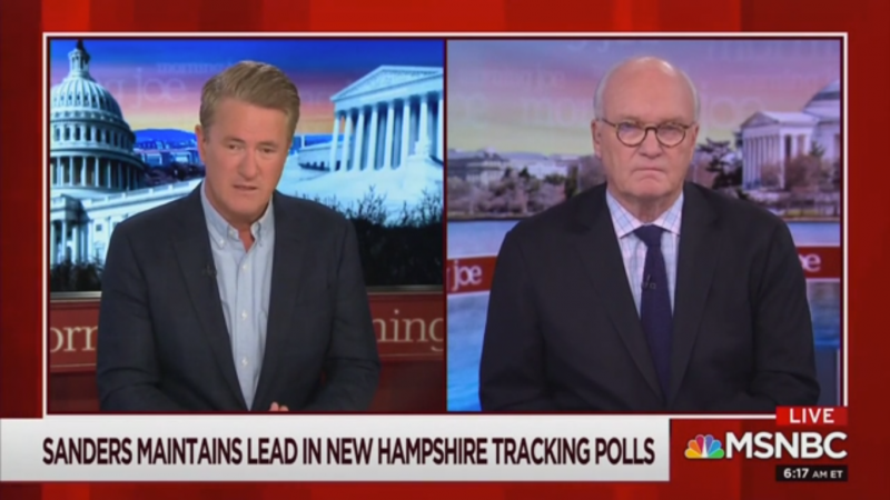 Joe Scarborough: Biden Could Lose His 'Firewall' of Black Voters After Iowa Result