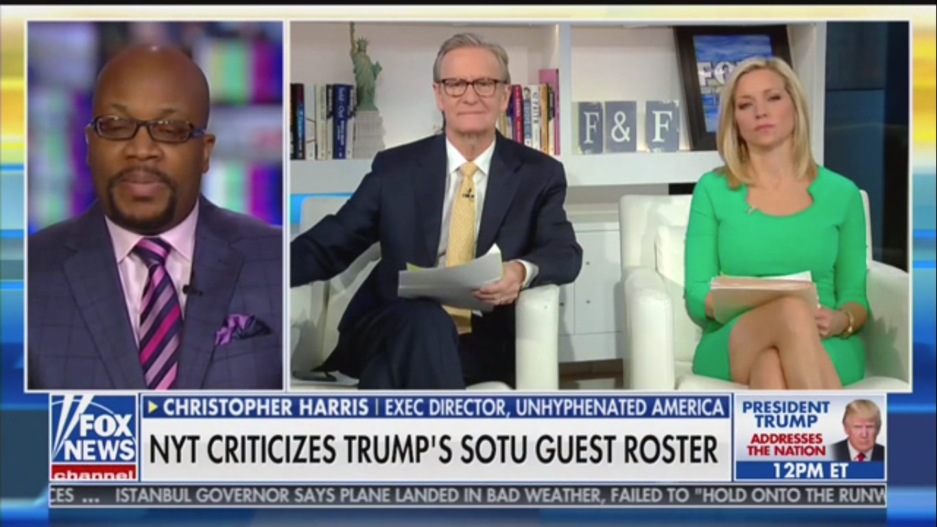 Fox News Guest Credits Trump With 'Three of the Greatest Years' Since 'Jesus Walked the Earth'