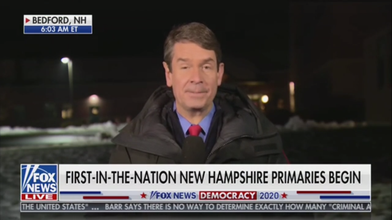 Fox's Griff Jenkins Calls Pete Buttigieg 'The Little-Known Mayor From South Bend'