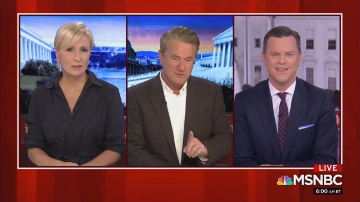 Joe Scarborough: 'We'd All Have a Big Laugh' About Trump but Now He Thinks He's Louis XIV
