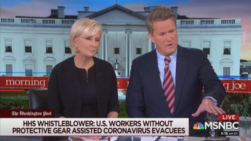 Joe Scarborough Tells Trump: Talk of Coronavirus Miracle Will 'Just Make the Markets Collapse Even Faster'