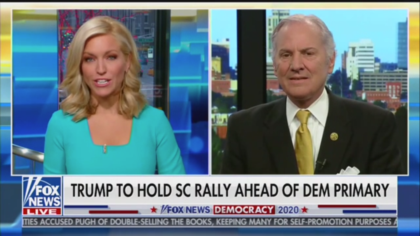 South Carolina Governor: Trump Is the 'Strongest Political Figure of Our Time' and 'Changing the World'