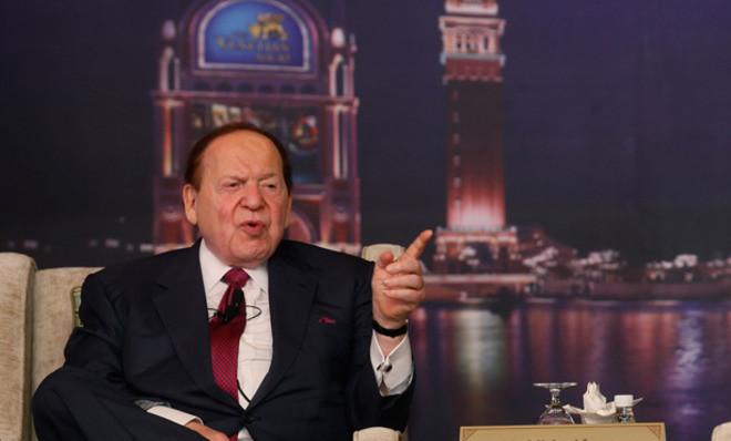 Billionaire Sheldon Adelson May Donate $100m to Trump and GOP
